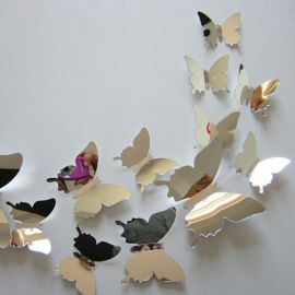 everythink.gr – mirror sticker butterfly